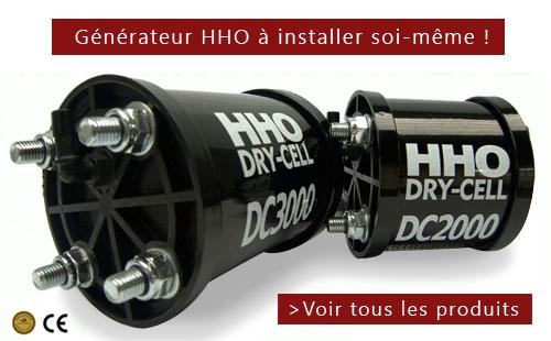générateur; d'hydrogène HHO