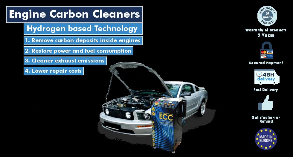 HHO Hydrogen Engine Carbon Cleaner