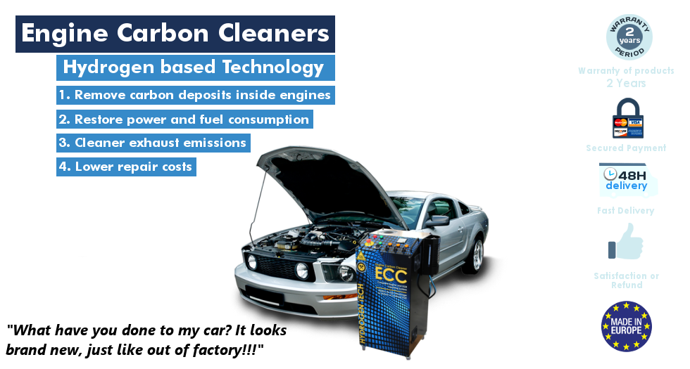 Hydrogen Engine Carbon Cleaner