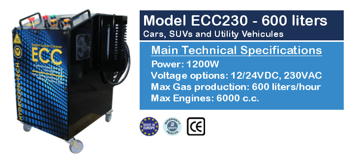 Hydrogen Engine Carbon Cleaner ECC230